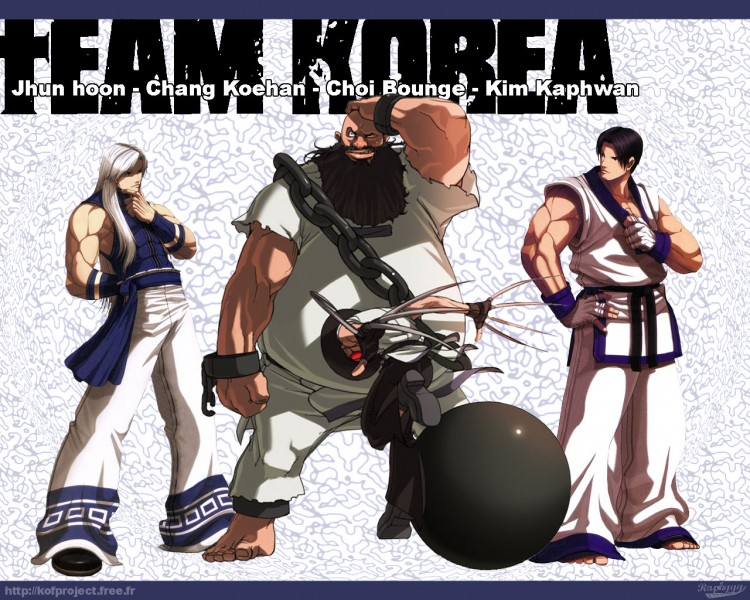 wallpapers video games wallpapers king of fighters team korea by raphyyy hebus com wallpapers king of fighters team korea