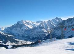 Fonds d'écran Voyages : Europe Grindelwald