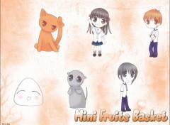 Fonds d'écran Manga Mini Fruits Basket