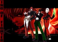 Wallpapers Video Games Trio (Iori, Kyo, Ash)