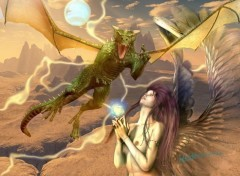 Wallpapers Fantasy and Science Fiction spirit imploration