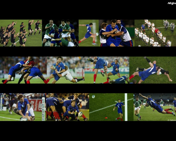 Wallpapers Sports - Leisures Rugby France - coupe du monde