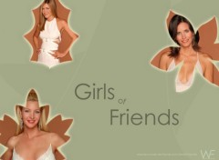 Fonds d'écran Séries TV Girl of friends