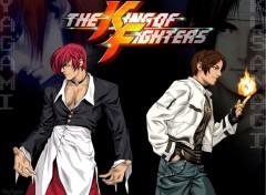 Fonds d'écran Jeux Vidéo Yagami & Kusanagi
