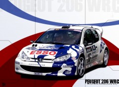 Wallpapers Cars 206 wrc