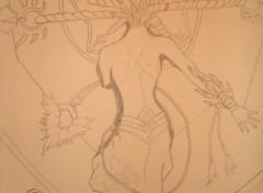 Fonds d'écran Art - Crayon Shiva