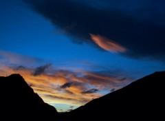 Fonds d'écran Nature Valley Sunset