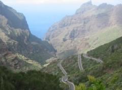 Fonds d'écran Voyages : Afrique Route de Masca (Tenerife)