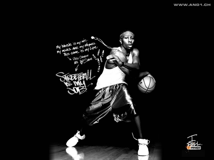 Wallpapers Sports - Leisures Basketball Hot Sauce-street ball