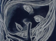 Fonds d'écran Art - Crayon Ashe