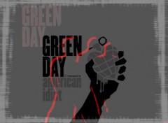 Fonds d'écran Musique green day