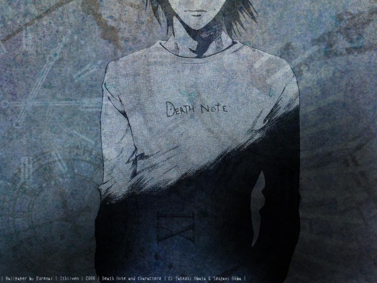 Fonds d'écran Manga Death Note L - Death Note
