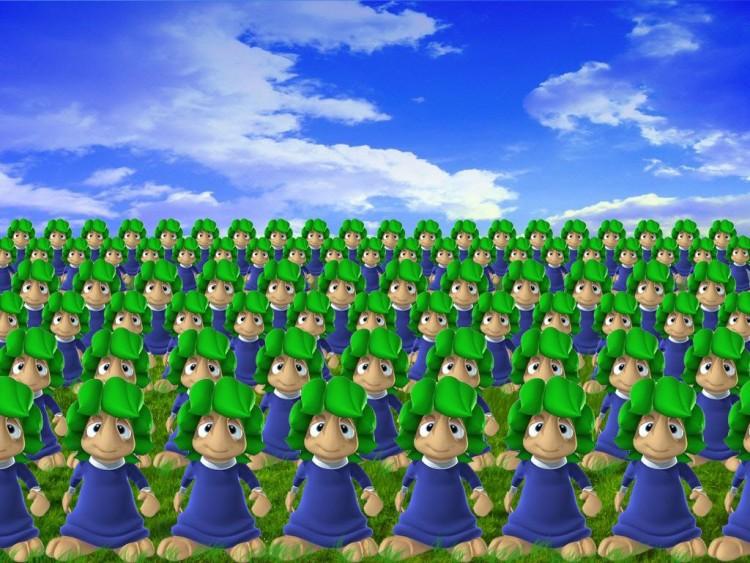 Wallpapers Video Games Lemmings Les Lemmings son de retour