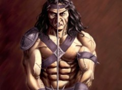 Wallpapers Art - Painting guerrier