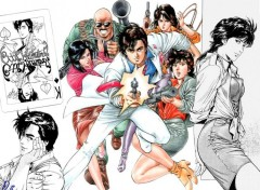 Fonds d'écran Manga City Hunter 02