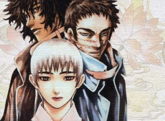 Fonds d'écran Manga walbin & mun su