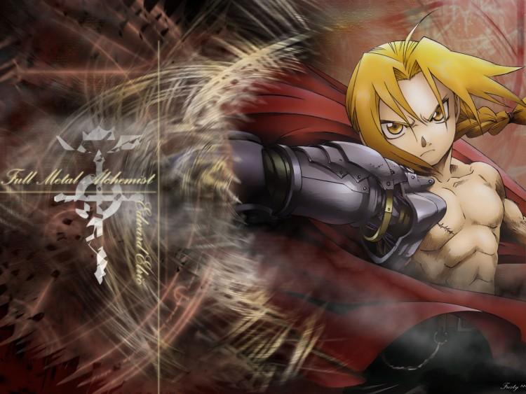 Fonds d'écran Manga Full Metal Alchemist edouard elrik