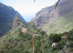 Fonds d'écran Voyages : Afrique Rocher de Masca (Tenerife)