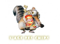 Fonds d'écran Humour scrat&chips