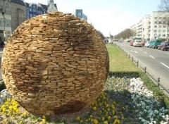 Wallpapers People - Events Ballon de foot en bois