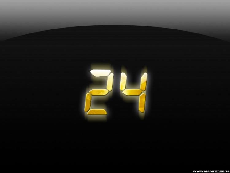 Fonds d'écran Séries TV 24 Heures Chrono 24 heures chrono