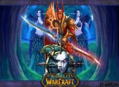 Fonds d'écran Jeux Vidéo Spirit Breaker et elfes de la nuit