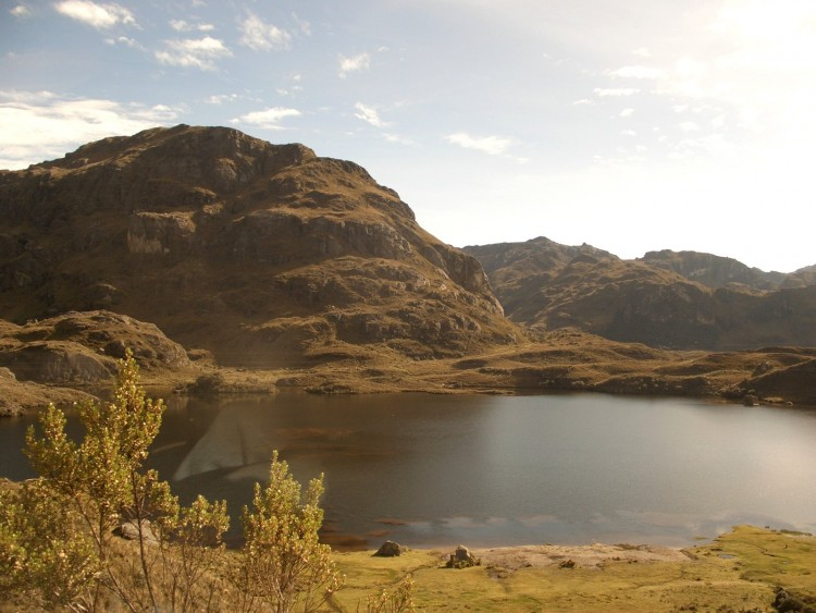Wallpapers Trips : South America Ecuador Paisaje del Cajas 3