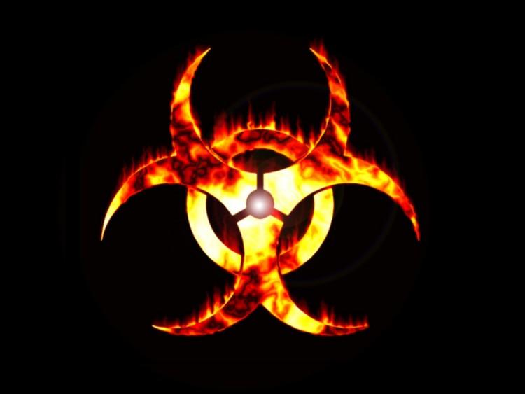 Wallpapers Brands - Advertising Logos Biohazard Feu
