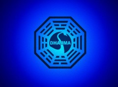 Fonds d'écran Séries TV Dharma initiative logo 1