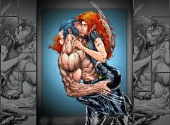 Wallpapers Comics Wolverine & Jean Grey