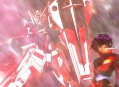Wallpapers Cartoons Shin & Impulse Gundam