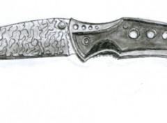 Wallpapers Art - Pencil couteau à cran d'arret