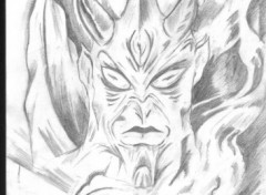 Fonds d'écran Art - Crayon bienvenue en enfer