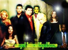 Fonds d'écran Séries TV Angel Investigations