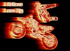 Wallpapers Motorbikes X-Treme I believe I can fly