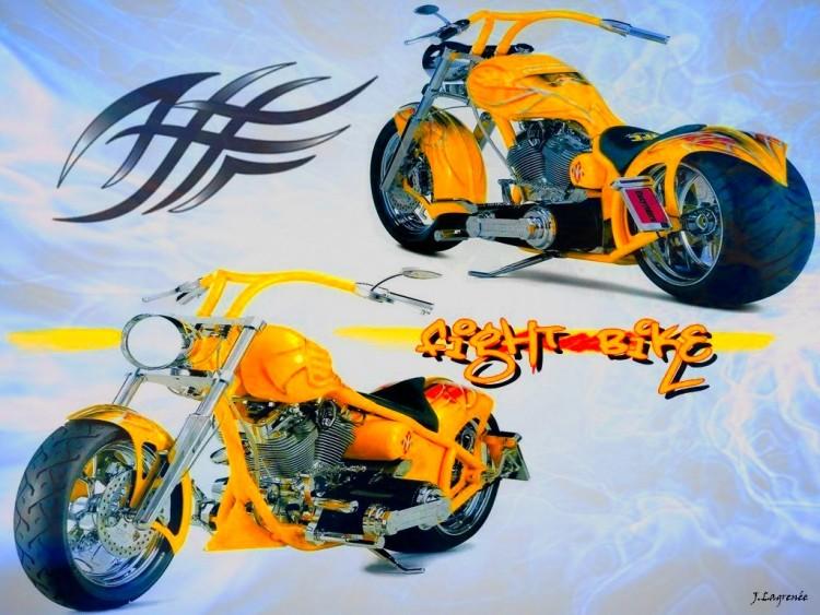 Wallpapers Motorbikes Harley Davidson Fight Bike