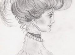 Wallpapers Art - Pencil belle époque