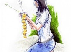 Fonds d'écran Art - Peinture Thai