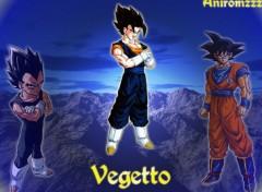 Fonds d'écran Manga vegeto