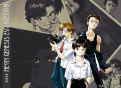 Fonds d'écran Dessins Animés Kensuke, Toji (& Shinji en guest)
