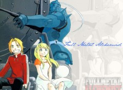 Fonds d'écran Manga FMA : Al, Ed et Winry