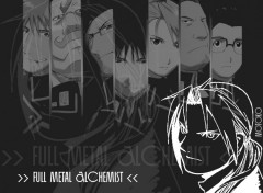 Wallpapers Manga FMA noir&blanc