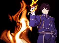 Fonds d'écran Manga Tout feu tout flamme
