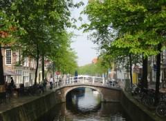 Wallpapers Trips : Europ Canal à Delft (Hollande)