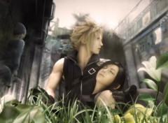 Wallpapers Video Games FF VII AC : Tifa et Cloud