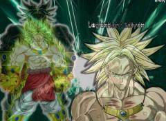 Fonds d'écran Manga broly le sayan legendaire