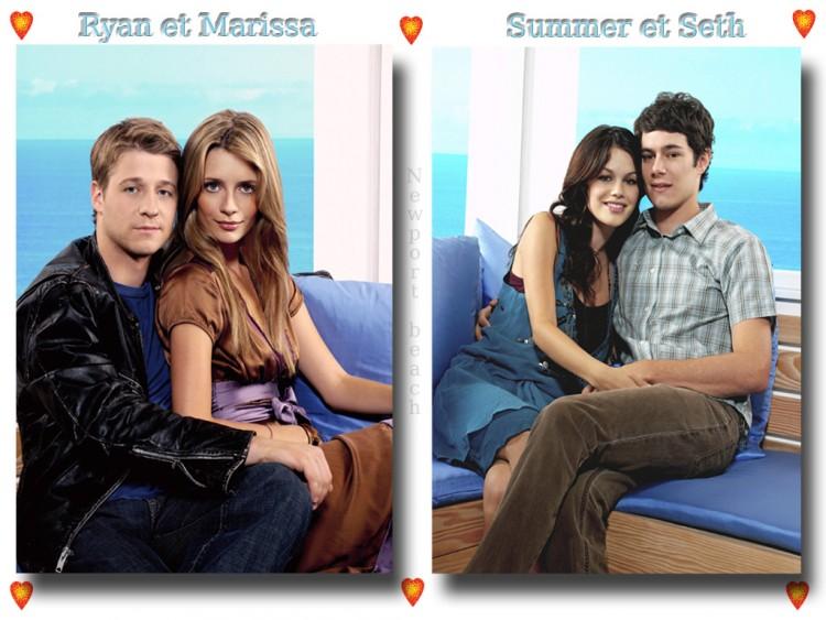 Fonds d'écran Séries TV Newport Beach Oc couples