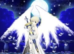 Fonds d'écran Manga Saber Angel
