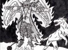Fonds d'écran Art - Crayon bloody demon