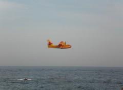 Fonds d'écran Avions canadair espagne
